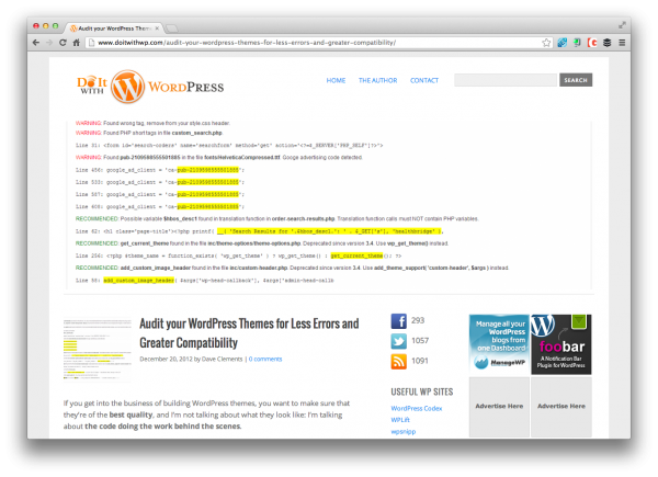 do-it-with-wordpress-audit