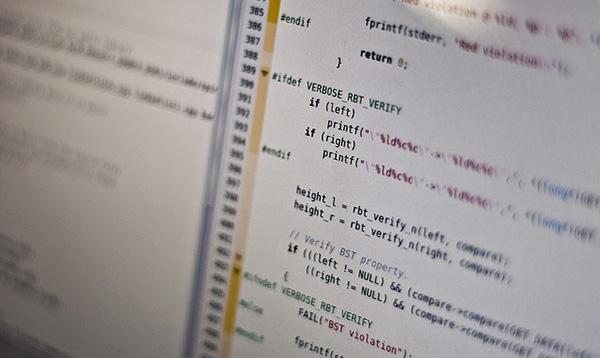 A segment of code