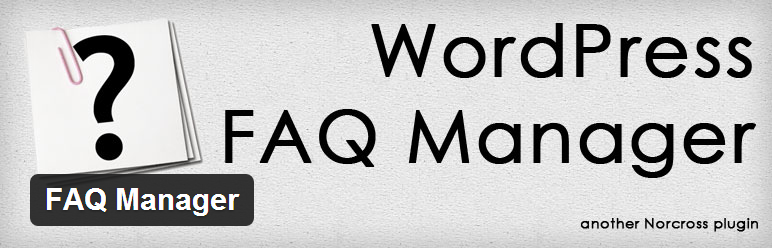WordPress FAQ Manager by Andrew Norcross