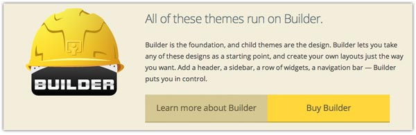The Builder WordPress Framework