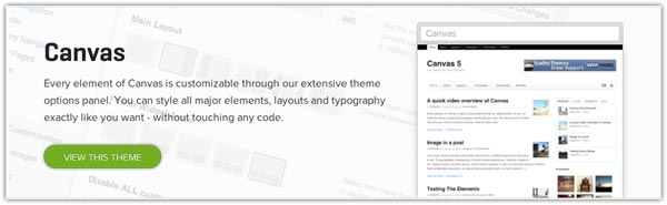 The WordPress Canvas Framework