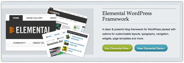 The Elemental WordPress Framework