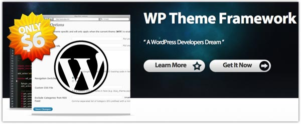 The WP Theme WordPress Framework