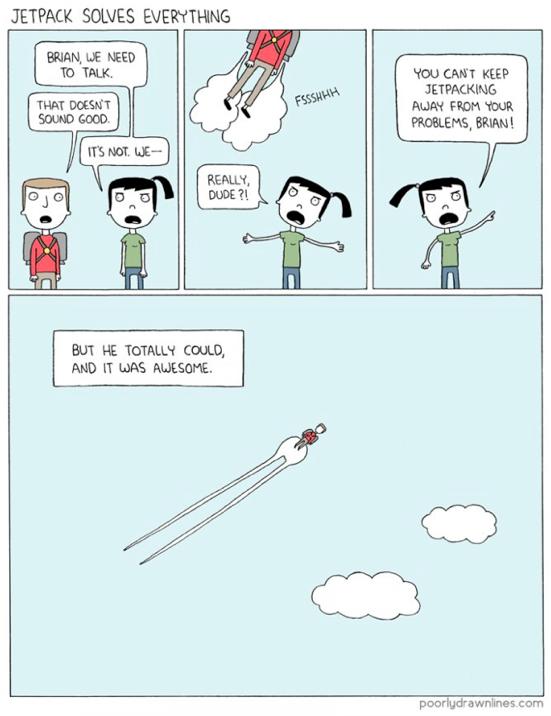via Poorly Drawn Lines