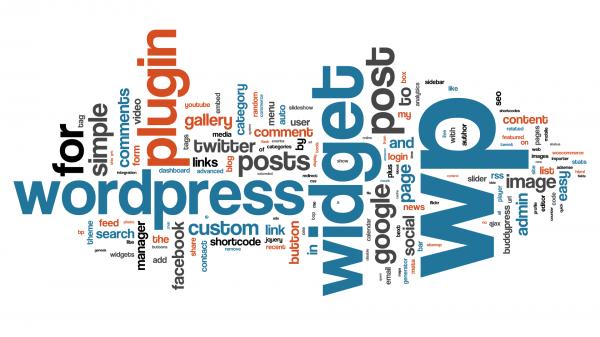 WordPress Tag Cloud of Plugin Names