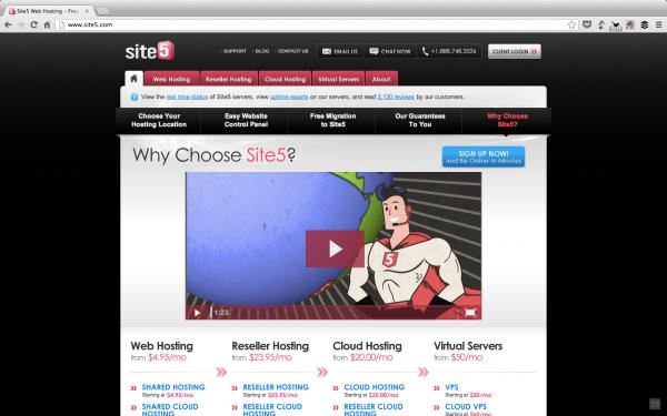 Site5 Hosting