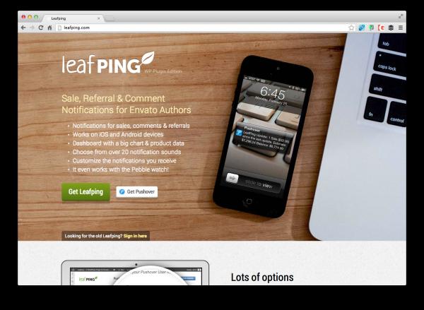 leaf-ping