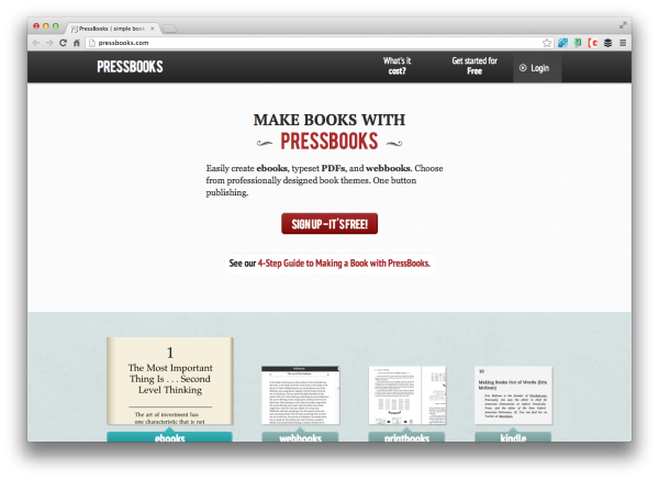 pressbook-home
