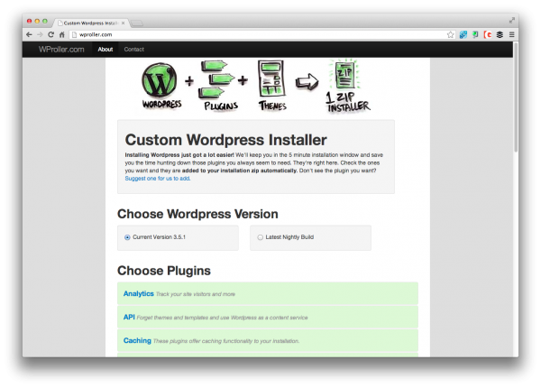 wordpress-roller