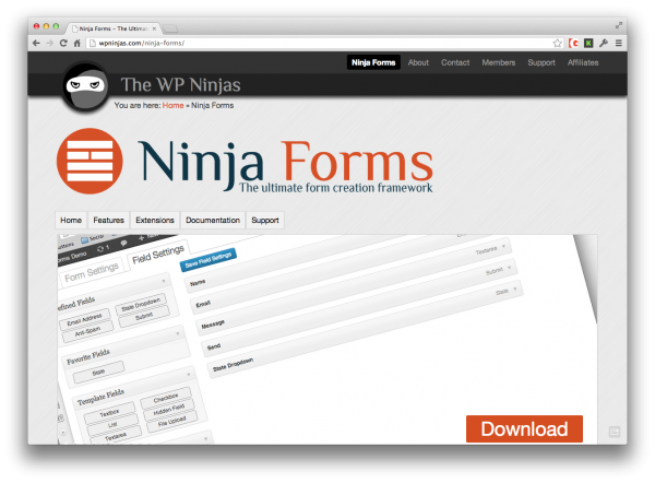 how to make ninja form create user