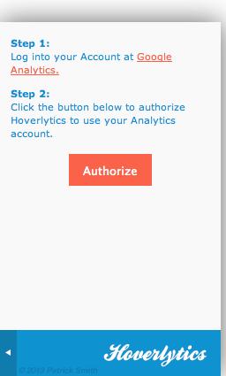Authorize your Analytics account