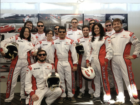 The VIP team in their race suits, so cool!