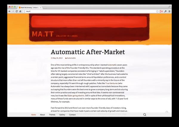 matt-new-theme
