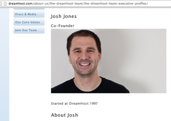 Josh Jones, Co-Founder
