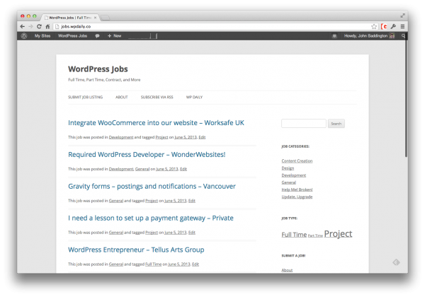 wordpress-jobs-wpdaily
