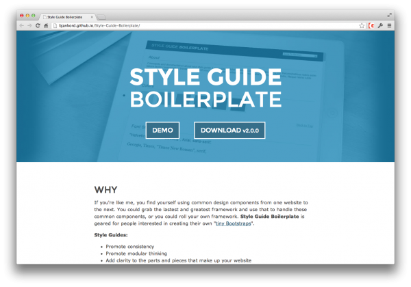 style-guide-boilerplate