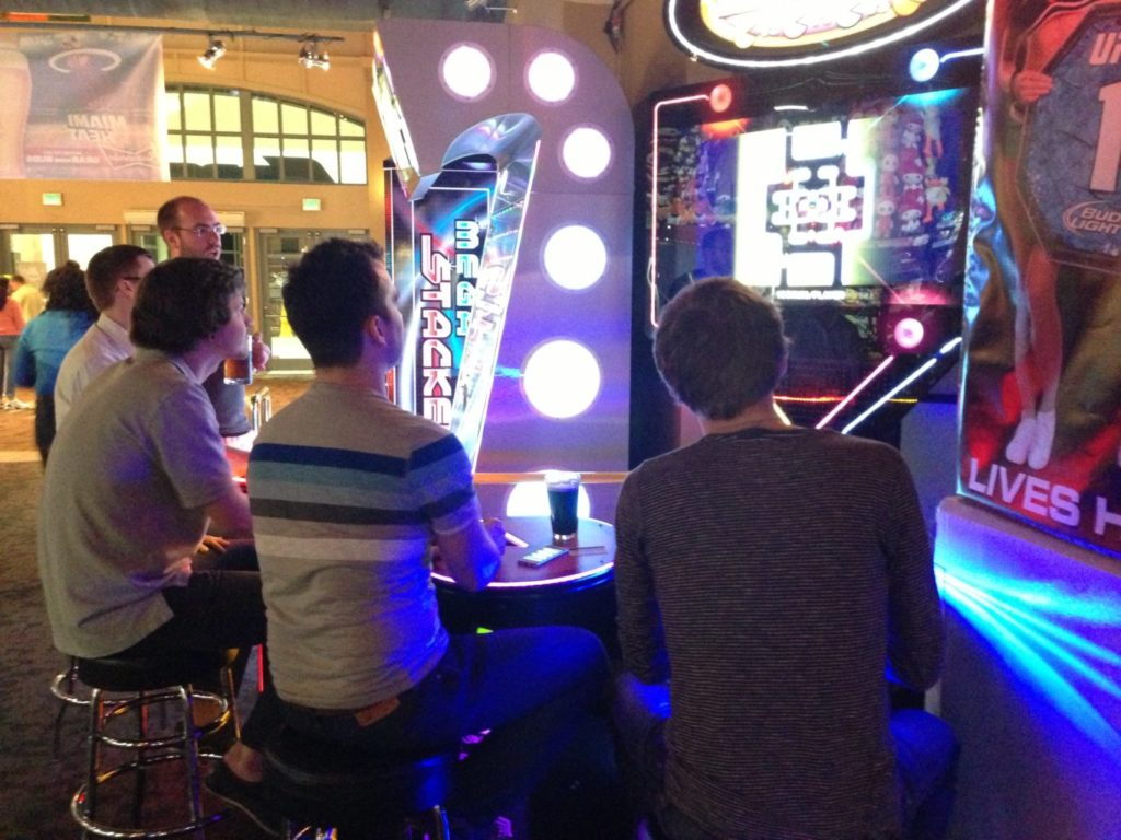 It's ok to think outside the box for speaker dinners. WCMIA took speakers to an arcade!