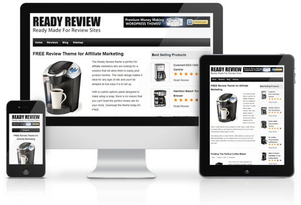 15 free themes fresh from september thetorquemag for Product review template wordpress