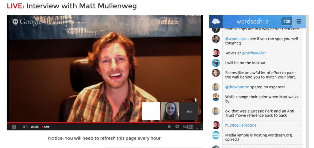 Interview with Matt Mullenweg