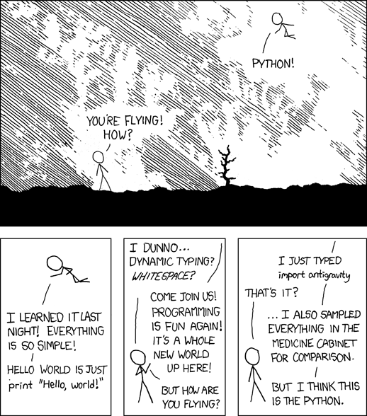 Python by XKCD