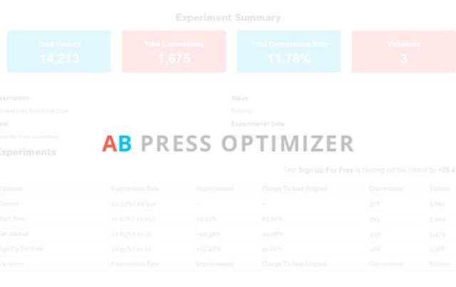 AB Press Optimizer 2
