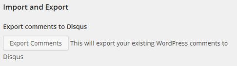 Import & Export