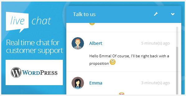 WordPress Live Chat Plug-in