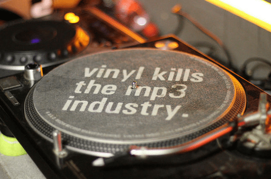 vinyl kills mp3 industry
