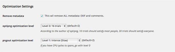 EWWW Image Optimizer allows you to tweak compression
