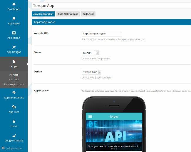 Build TorqueMag App