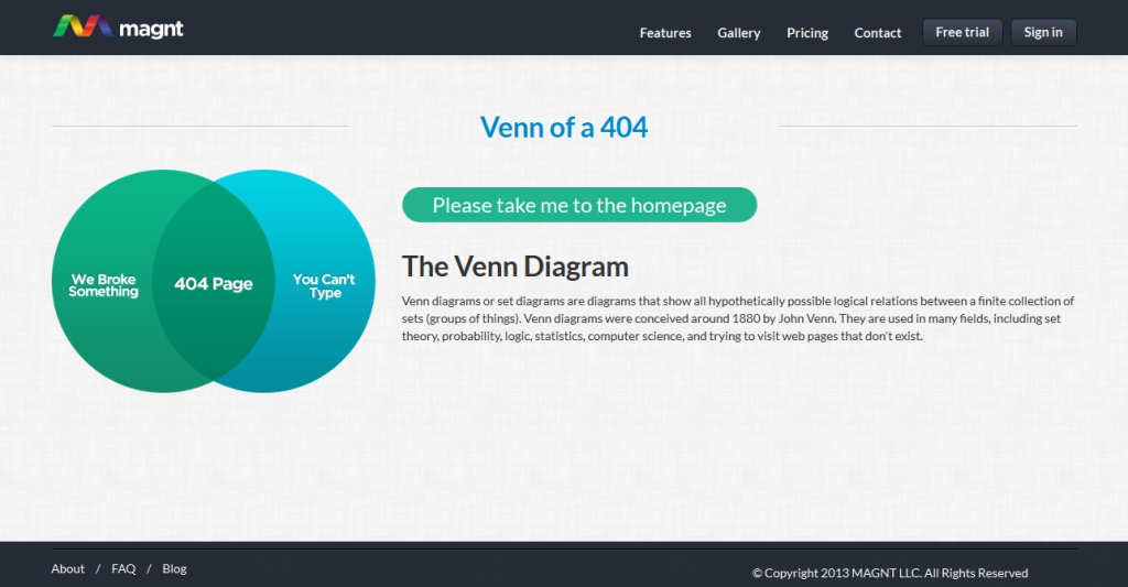 404 page examples MGNT