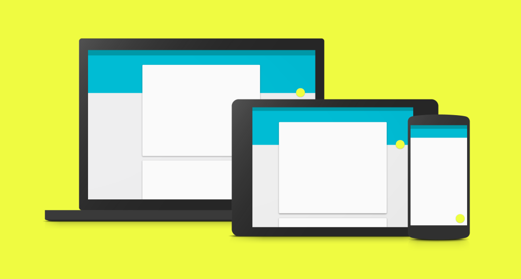 WordPress Web Design Trends 2015 Material Design