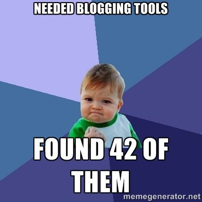 blogging tools wordpress memegenerator