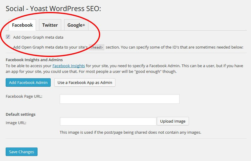 WordPress-SEO-Yoast-Social-settings
