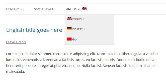 Language-switcher-in-menu-frontend