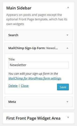 MailChimp-for-WordPress-widget