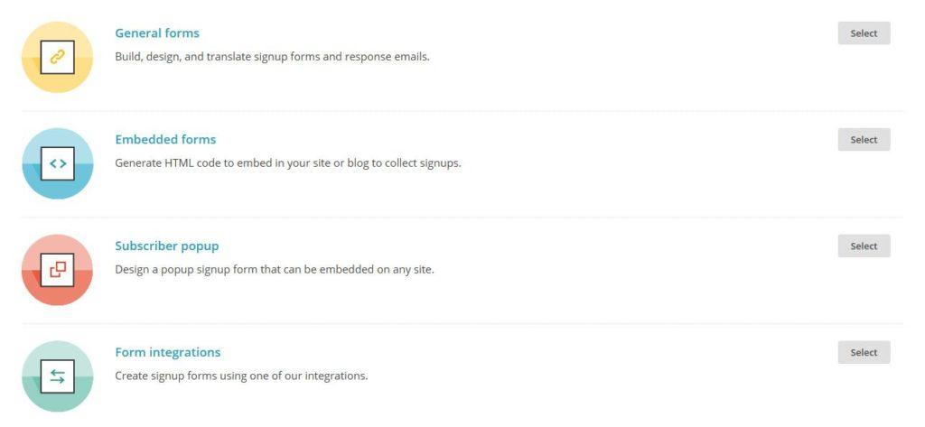MailChimp-signup-forms
