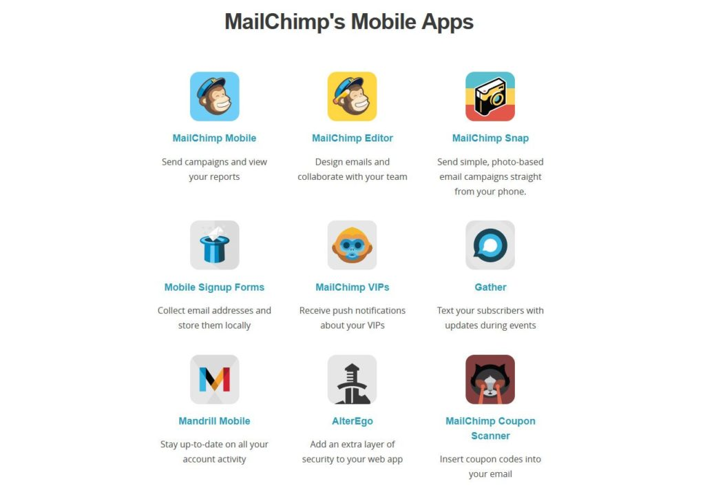 Mailchimp-mobile-apps