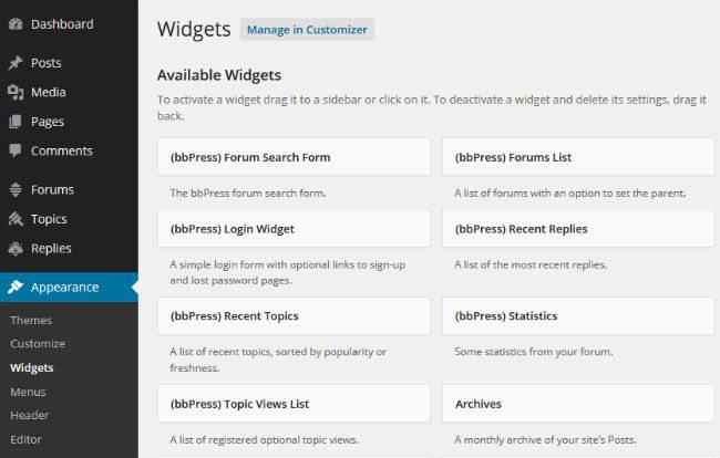 bbPress Search Widget – WordPress plugin | WordPress.org