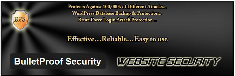 BulletProof security WordPress plugin