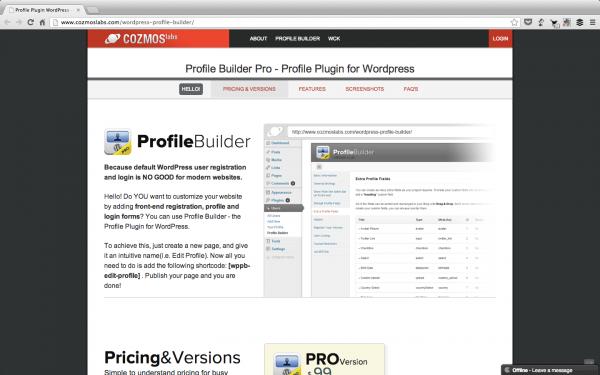 Profile Builder By Cozmoslabs Thetorquemag