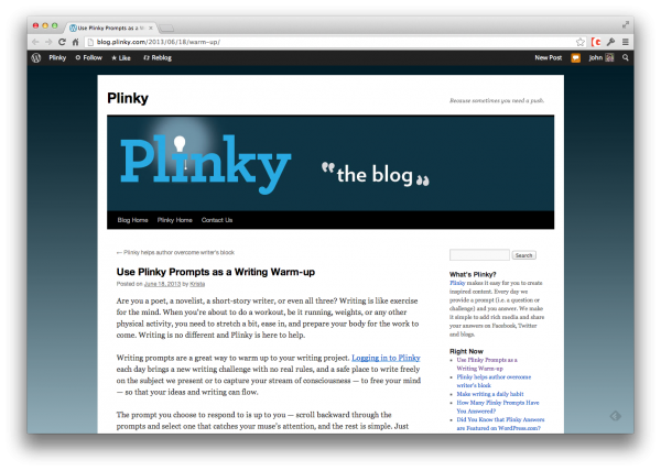 plinky